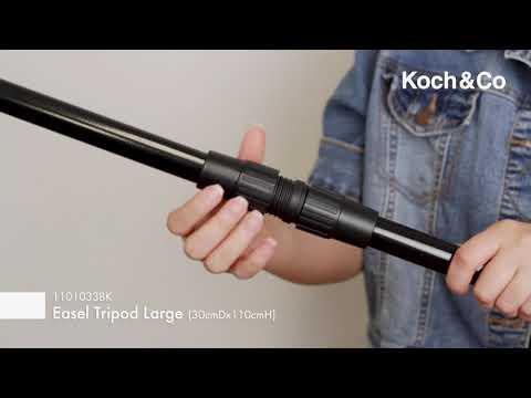 Easel Tripod Large 30cmDx110cmH KD Black