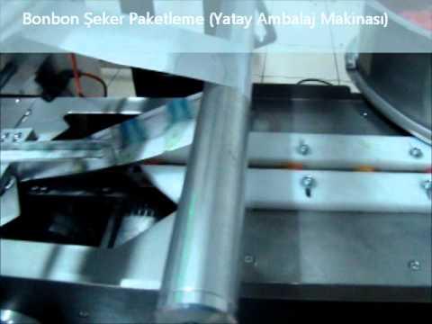 Bonbon Şeker Paketleme (Yatay Amablaj Makinası) ElitPack