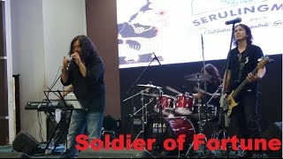 POWERSLAVES - SOLDIER OF FORTUNE ( DEEP PURPLE COVER )