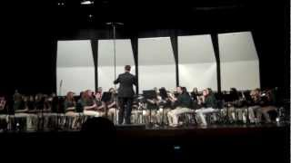 7th grade band concert- The Antagonist