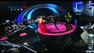 ZASKIA GOTIX Feat YOUBI SISTER & DJ GLERY Live At Music Extra (12-12-2013) Courtesy MNC TV