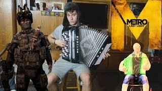 Metro Last Light  - Accordion Cover