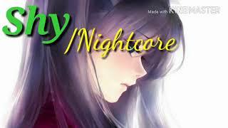 Nightcore - Shy (Jai Waetford)