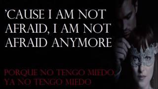 Halsey - Not Afraid Anymore (Lyrics Ingles - Español)