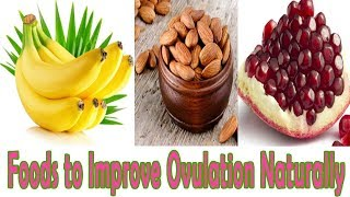 Foods for  ovulation Stimulation | 9 Foods to Improve Ovulation Naturally