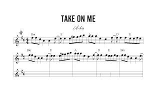 Partitura: A-ha - Take on me | Clases de Produccion de Partituras