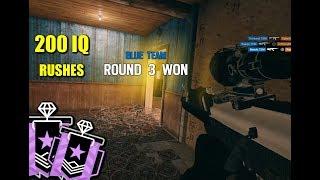 200 IQ Diamond Rushes - Rainbow Six Siege