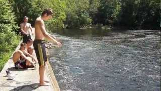 Cliff Jumping 2012 // Sunday Afternoon in Collinsville