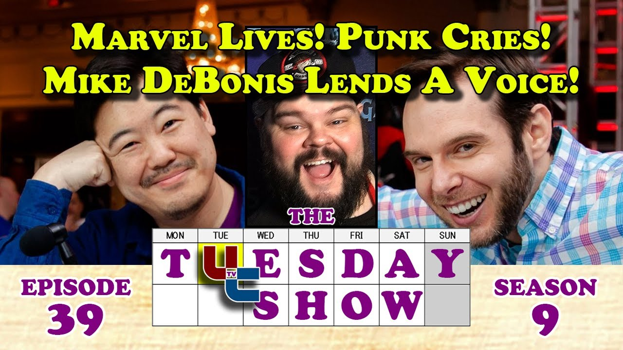 UltraChenTV - Tuesday 9.39 - Marvel Lives! Punk Cries! And Mike DeBonis Lends A Voice! Etc. (2020-11-17)