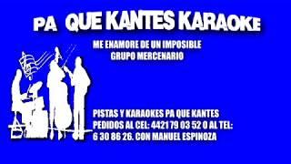 me enamore de un imposible grupo mercenario karaoke