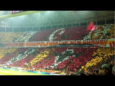 Galatasaray SK - Schalke 04 / Champions League Opening Ceremony 20/02/2013