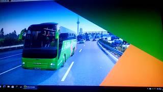 Ich fahr an der Polizei kontrolle vorbei /Fernbus Simulator #006