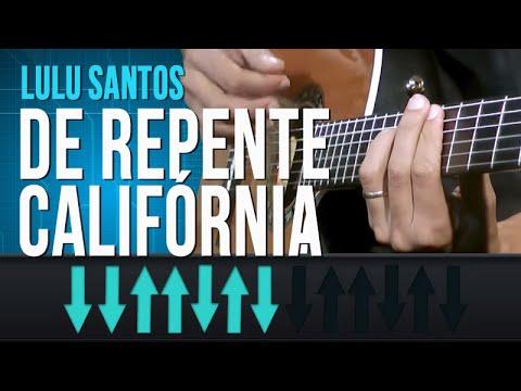 Lulu Santos - De Repente Califórnia