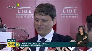 Ministro da Infraestrutura anuncia novas rodadas de privatização no setor de transportes