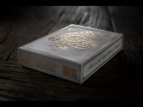 خدع الورق - العلبة و أوراق اللعب 1