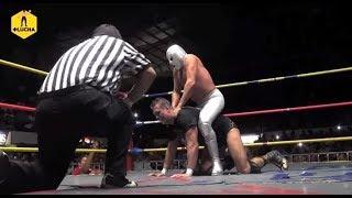 El Hijo del Santo vs Alberto el Patrón vs Silver King
