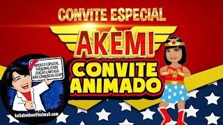 Convite Mulher Maravilha cute by Katia Hoehne