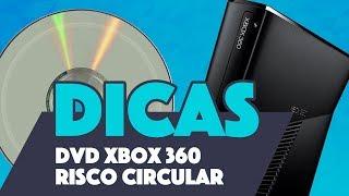 Dica de prevenção: Cd XBOX 360 riscado - Risco circular.