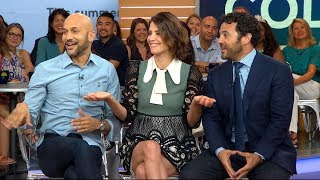 The 'Friends from College' cast opens up about the new series