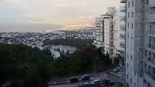 נוף מדהים עים שיר למעלות בחיפה