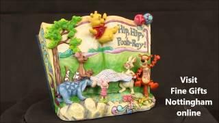 Disney Traditions Winnie the Pooh Figurine Hip Hip Pooh Ray - Jim Shore 4046053