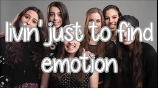 Cimorelli - Don't stop believing (lyrics) [by journey/glee]