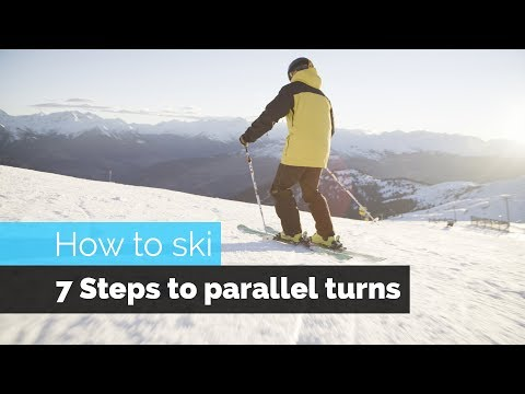HOW TO SKI | 7 STEPS TO PARALLEL TURNS