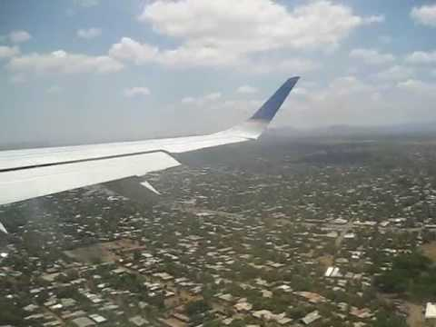 landing to managua