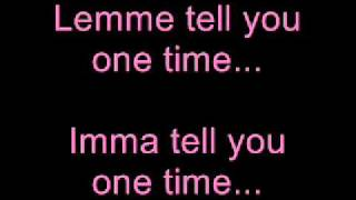 Justin Bieber - One Time (Acoustic) With Lyrics