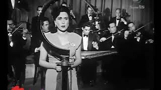 ليلي مراد منايا في قربك من فيلم الحبيب المجهول انتاج 1955