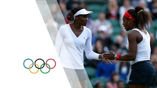 Women's Tennis - Williams/Williams vs Kirilenko/Petrova - Doubles Semi-Final | London 2012 Olympics