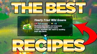 Best Recipes Cooking Guide for Food in Breath of the Wild