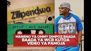Ommy Dimpoz baada ya video mpya ya WCB kuachiwa baada ya Alikiba