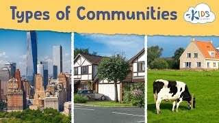 Urban, Suburban, and Rural Communities