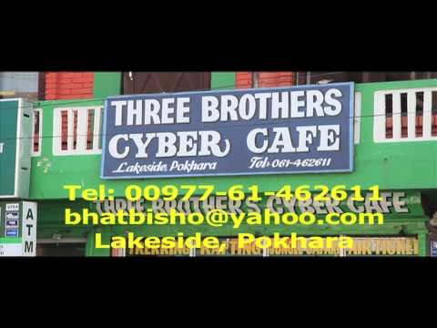 ^MuniMeter.com – Lakeside, Pokhara – Three Brother's Cyber Cafe