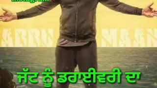 Trala 2 - Babbu Maan- Banjara-latest song whatsapp video by Guri Sidhu Bhagu