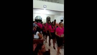 Coral das Mulheres - Vanilda Bordieri - Entrada 58° Congresso Círculo de Oração Brasilândia de Minas width=