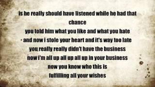 mohombi - in your head lyrics