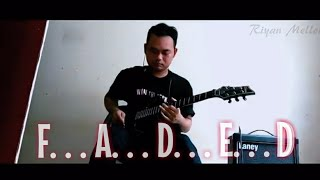 Alan Walker - Faded - Electric Guitar Cover by Ebta Riyan - Kfir Ochaion inspired