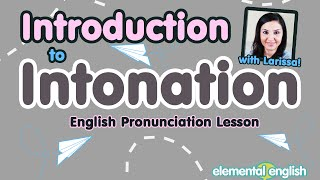 Introduction to Intonation | English Pronunciation Lesson