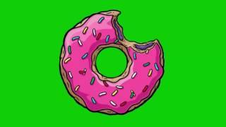 Green Screen -2- (Donuts)