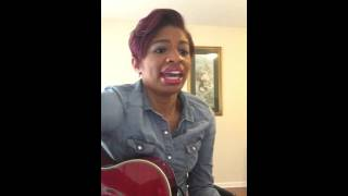 """""""Wanna Be Happy"""" Kirk Franklin Courtney Chay Cover"""