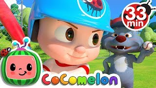 Take Me Out to the Ball Game | +More Nursery Rhymes & Kids Songs - ABCkidTV width=