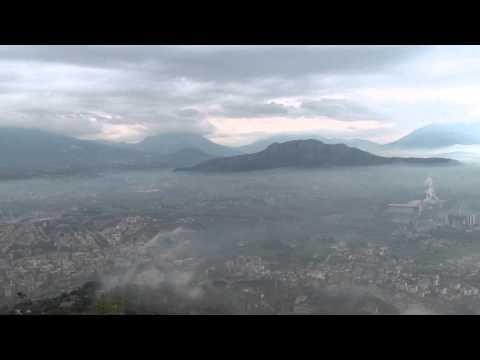 Cassino from Monte Cassino