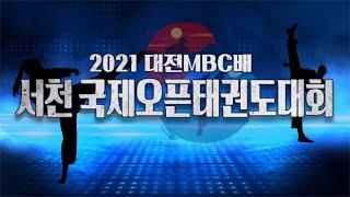 2021 대전MBC배 서천국제오픈태권도대회 다시보기
