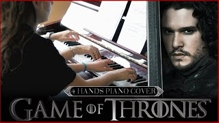 Game of Thrones - Piano Cover (4 Hands) - Sheet Music