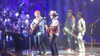 Ed Sheeran & Bruno Mars live - The A Team - Scottrade Center St. Louis, MO - 8-8-13
