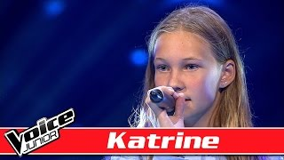 Katrine synger: Ellie Goulding - 'Love Me Like You Do' - Voice Junior/ Blinds