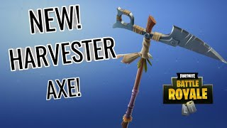 Harvester Pickaxe Sound Test + Review!