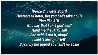 Travis Scott - NO BYSTANDERS (Lyrics) ft. Sheck Wes & Juice Wrld